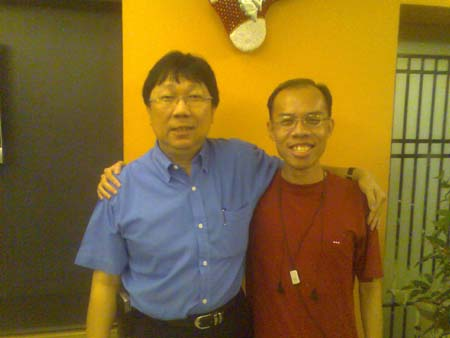 Richard Quek and me!