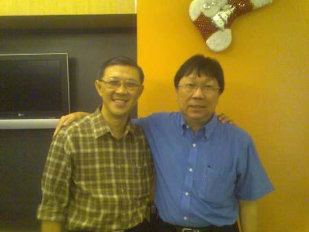 Jolly Tan and Richard Quek