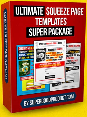 Ultimate Squeeze Page Template Super Package